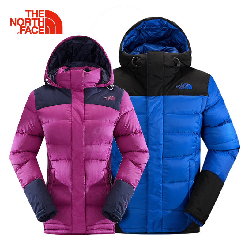 The NORTH FACE/North Couple Outdoor Lightweight Warm Down Clothing Jacket CTV7/CUE5 for Men and Women