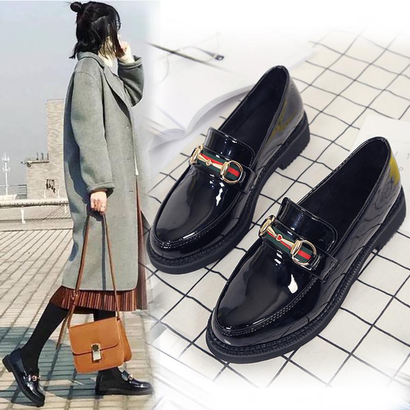 Giày nữ, chất liệu da bền đẹp, thiết kế đế bằng tránh trơn trượt, phong cách nữ tính