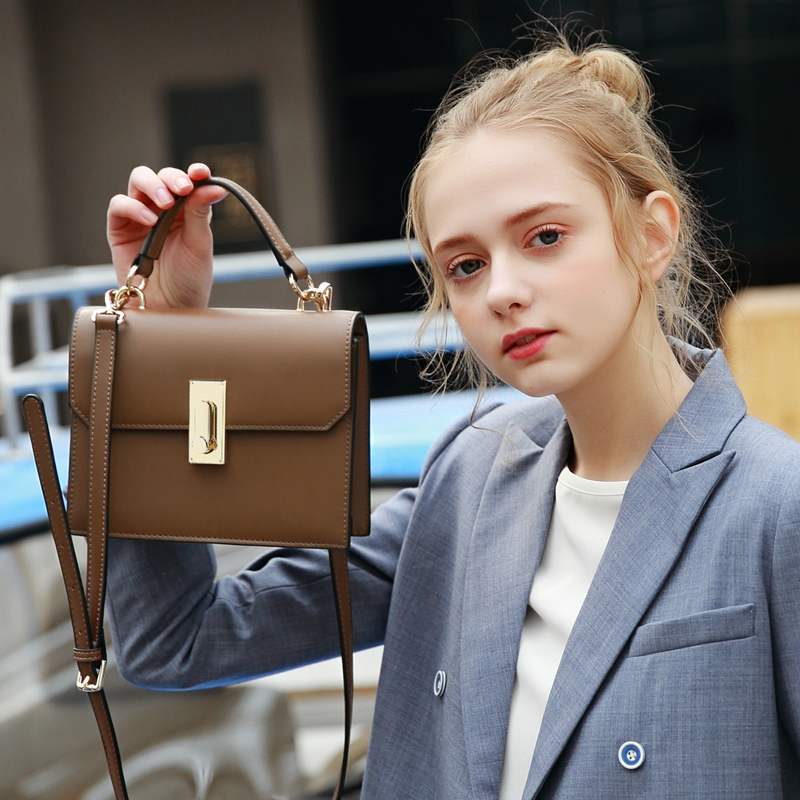 High Sense Slanting Bag 2019 New Autumn and Winter Single Shoulder Hand-held Bag ins Super-hot Bag Fashion