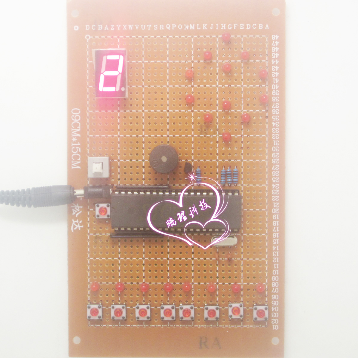 Design of elevator eight level elevator electronic design based on 51 single chip microcomputer