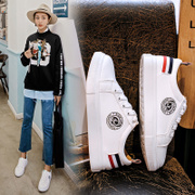 The bird white shoes in summer and autumn 2017 new all-match s casual white shoes original night wind shoes female students