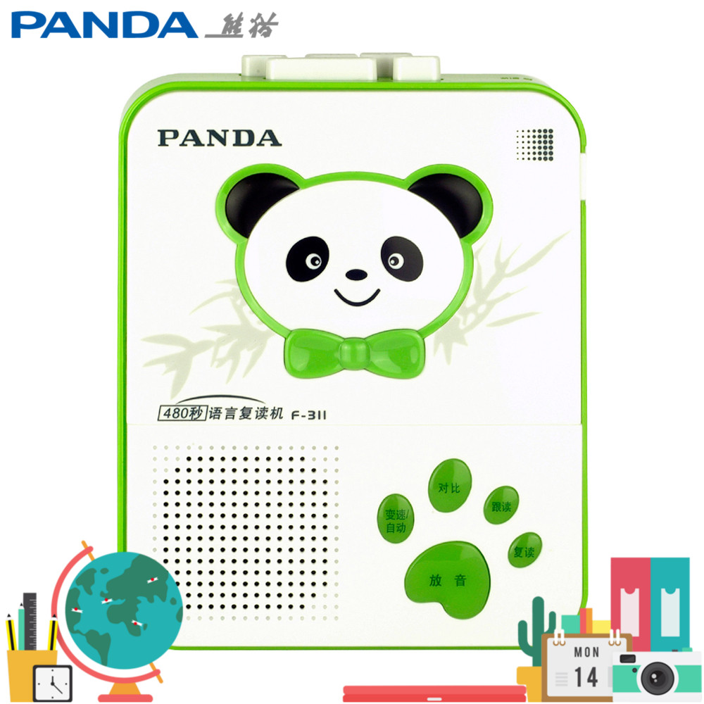 Panda F-311 Repeater Tape Recording Five-speed Intelligent Charging Appearance Portable