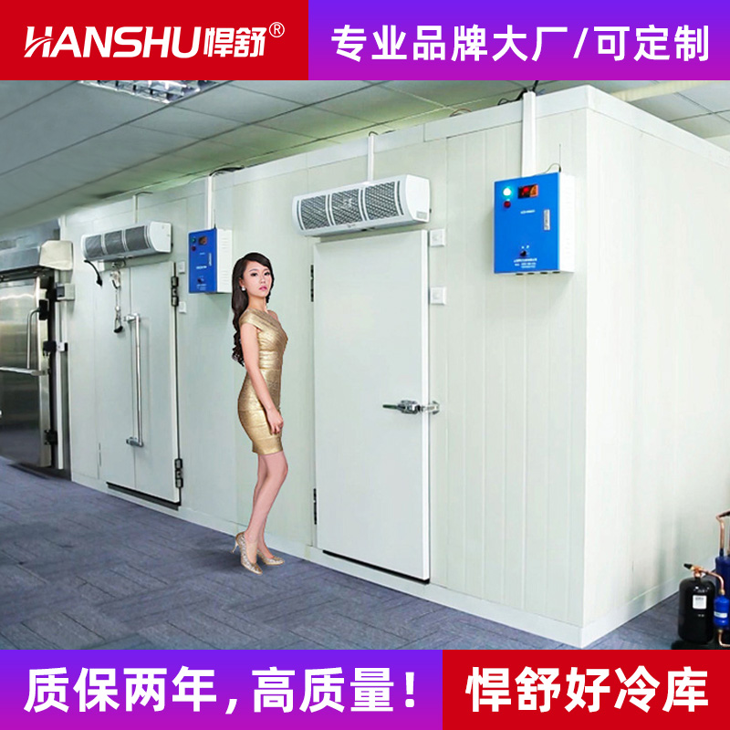 Hushu refrigerator full set of equipment large and small custom fruit refrigeration storage frozen storage board refrigeration unit