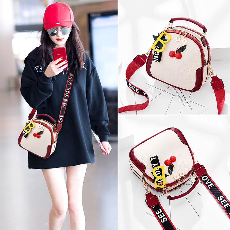 Autumn Baggage Girls 2019 New Korean Edition Fashion Baitao Student Summer Xiaoqing Single Shoulder Bag Slant Bag