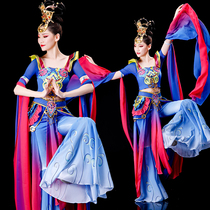 Bounce pipa flying dance suit New Dunhuang Hanfu flying classical dance performance suit Female fairy elegant performance