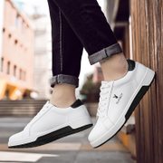 New men's casual shoes men's shoes dandy winter cotton shoes shoes all-match Korean tide white male