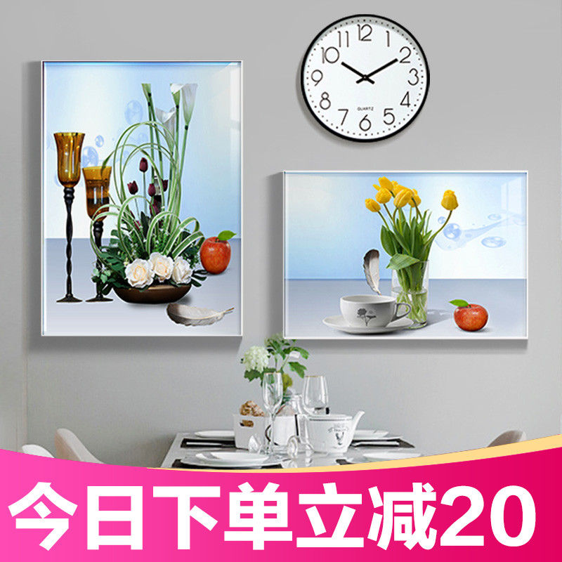 Restaurant Decoration Painting Modern Simple Dining Room Hotel Hanging Painting Dining Room Background Wall Decoration Fresco Wall Decoration Painting