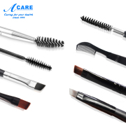 Eyebrow brush eyebrow painted eyelashes double professional tool angle spiral draw eyebrow makeup brush single hard suit 1