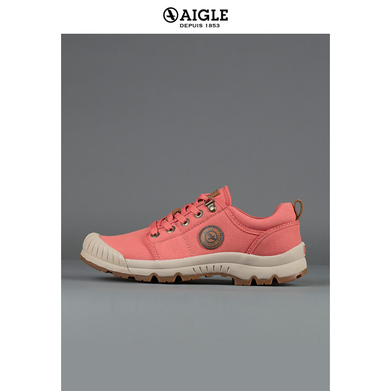 [19 Autumn and Winter New Products] TL LOW W CVS, Ms. AIGLE's waterproof cotton low-top elephant shoes