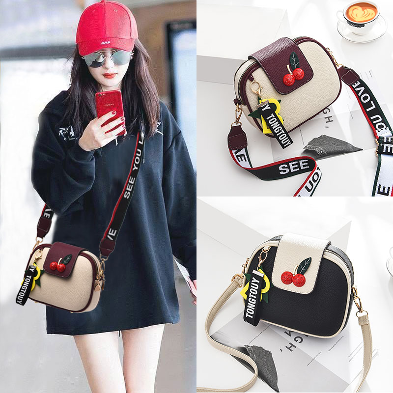 Shangxin Texture Bag Autumn and Winter Women's Bag 2019 New Fashion Korean Version Baitao Slant Bag ins Single Shoulder Bag Tide