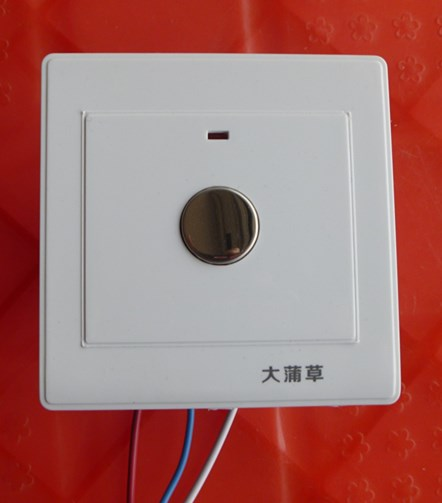 DC 12V Touch Delay Switch 12V Door Lock Switch Circulating Pump Switch (1-2 minutes adjustable)