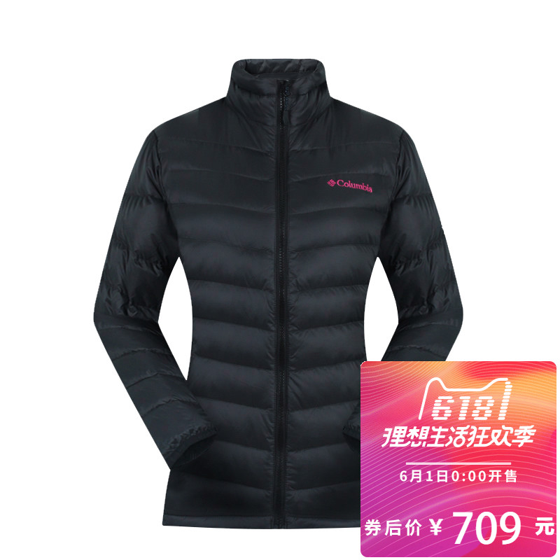 Colombia Down Garment for Women Outdoor 650 Peng Wind-proof and Breathable PL5989 in Autumn and Winter
