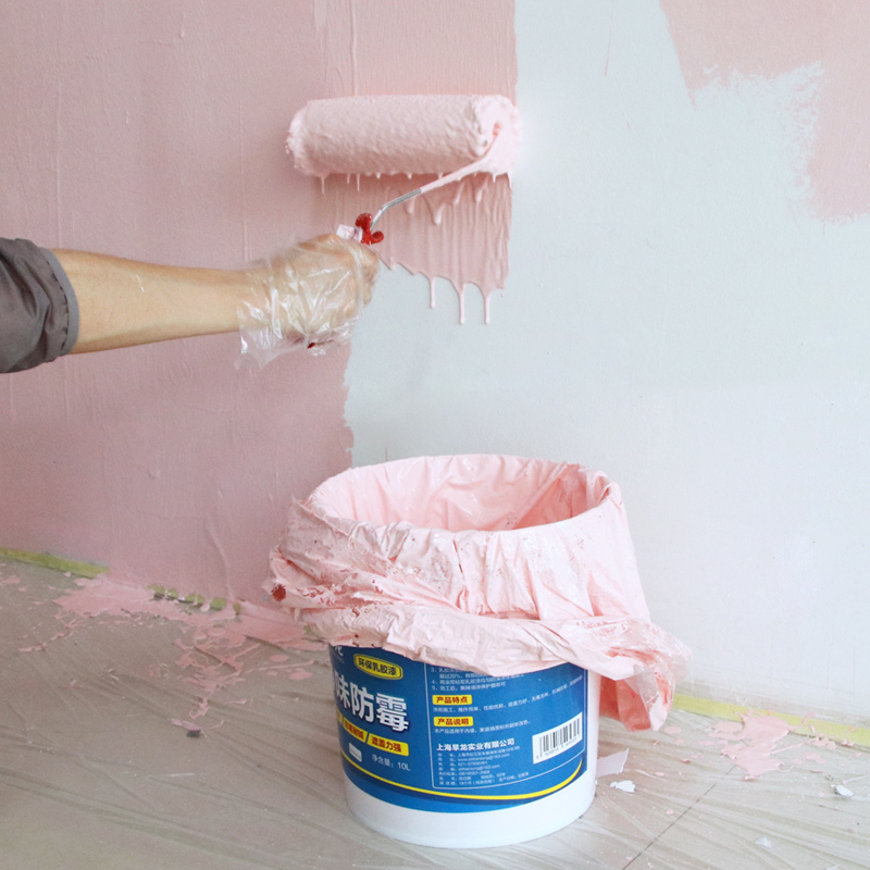 Latex paint indoor home color white interior wall brush wall paint repair self-painting tasteless environmental protection paint