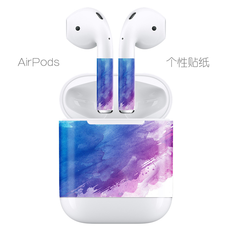 Apple AirPods special personalized sticker film protection accessories headset + headset box sticker set