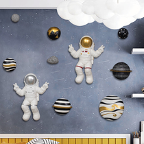 Детская комната декор стены Северная роскошь расположение спальня гостиная фон стены 3D стерео астронавт кулон