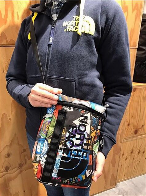 Spot second delivery of the NORTH FACE BC Fuse Box Pouch multifunctional package in northern Japan
