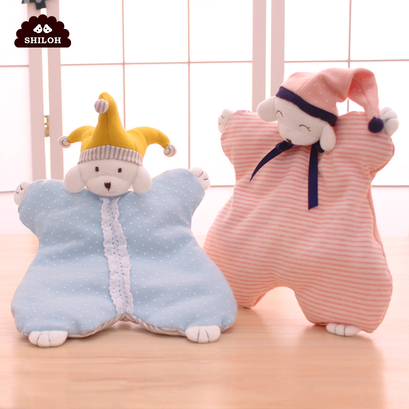 SHILOH Little Princess and Little Love Soothe Towel Baby Soothe Cotton Skin Doll Accompanied by Sleeping Doll