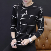 Long sleeved t-shirt t-shirt sweater autumn Korean male young students cultivation of autumn clothes men's shirt dress tide