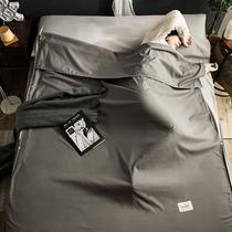 Грязный отель спальный мешок портативный путешествия поезд спальный артефакт ультралегкий выход двуспальная кровать одноместная универсальная модель четыре сезона