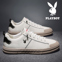 Playboy mens shoes mens casual shoes shoes tide shoes wild casual shoes pure leather small white shoes shoes
