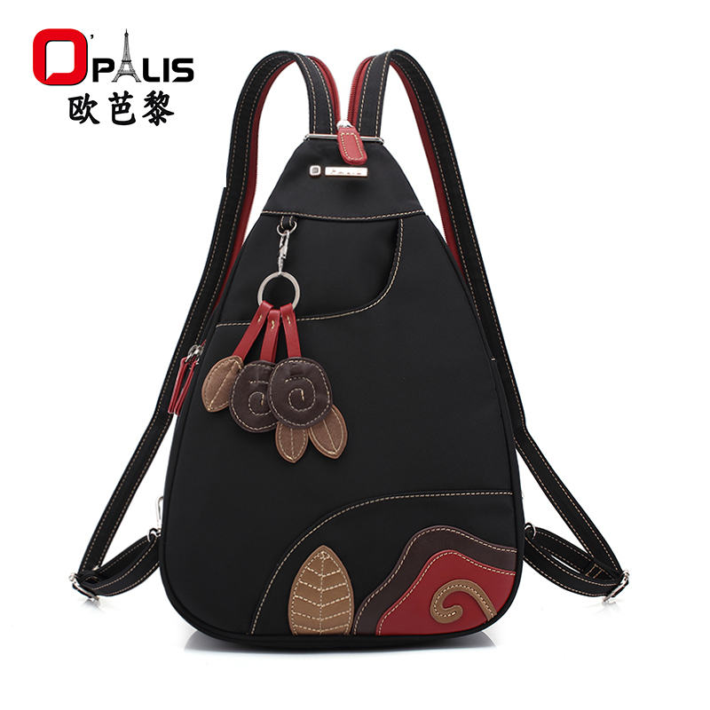 New style nylon shoulder bag women fashion breast bag women travel leisure backpack Oxford light bag