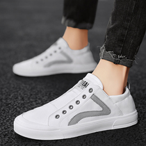 Shoes men 2020 spring new tide shoes men Joker casual shoes small white shoes Korean version of the trend board shoes lazy shoes