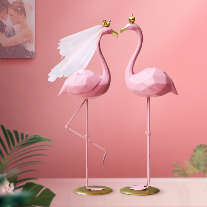 Flamingo Marriage Gift Practical Boyfriend Engagement Newlywedding Day Nordic couple to send new brothers and sisters-in-law