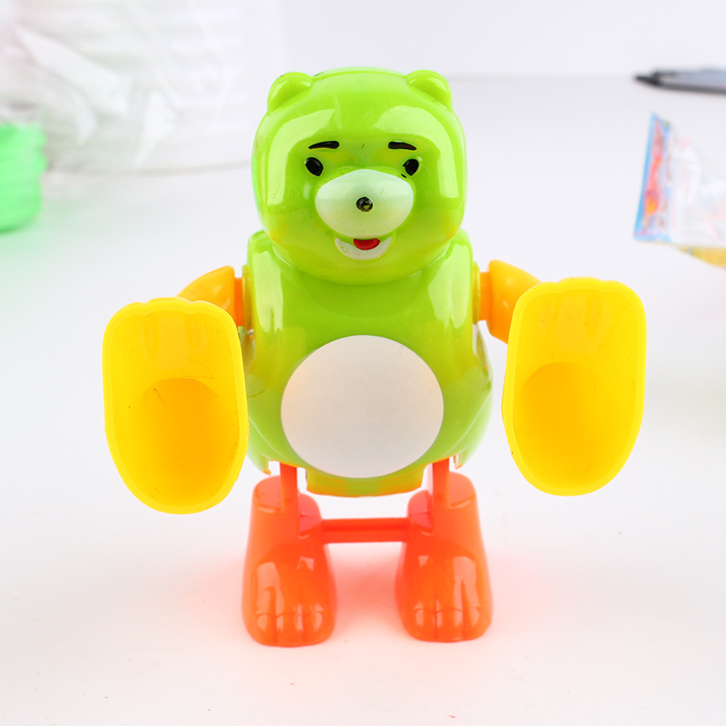 Babies, Boys and Girls Winding and Flipping Fighting Animals 0-1-2-3 Years Old Children and Babies Can Jump Toys Supply