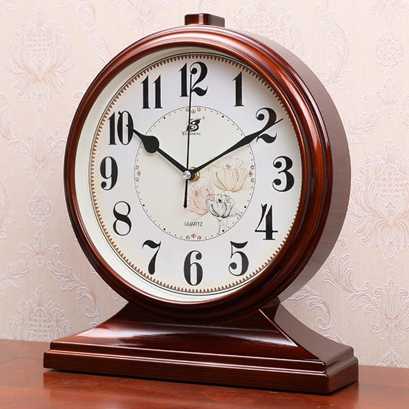 Pendulum quartz living room bells ancient home tabletop large clock錶 sitting clock European-style clock pendulum pendulum