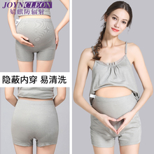 Radiation-proof pregnant women's underwear, belly pocket, wear invisible pregnancy to work, play mobile phone radiation suit in summer