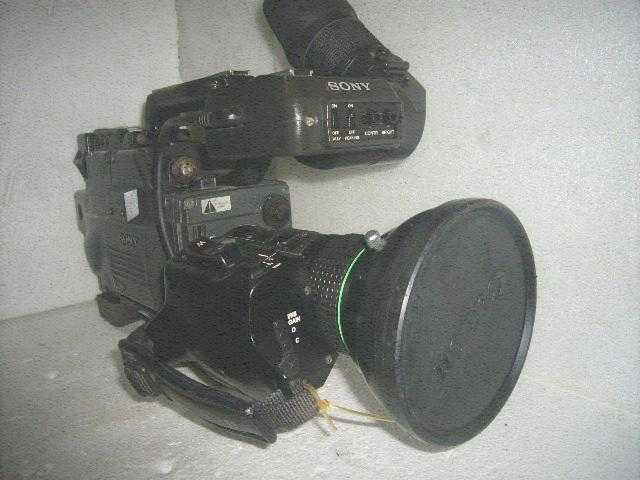Vintage shoulder-mounted camera Sony CA-327p camera decorative ornaments film and television props