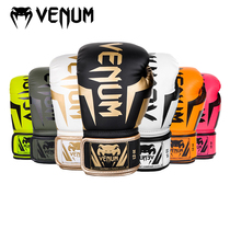 VENUM venom boxing gloves mens and women抟 mens and womens elite fights are dedicated to fighting Muay Thai training sandbags
