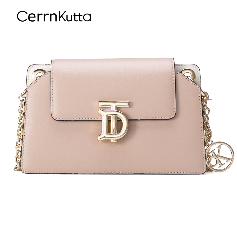 Chain bag messenger female small ck wild ins shoulder bag 2020 new fashion leather square bag high-quality texture