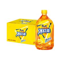 Мастер Конг Чай со льдом 1Л * 12 бутылок лимонного чая напитки Напитки Полная коробка упаковка дом накопление ужин совместное использование