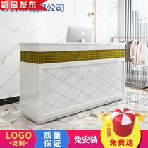 Bar 檯 cash register clothing store n small cabinet commercial 髲 shop simple modern pre-salon reception