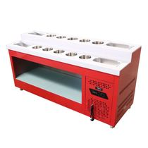 Fishing seasoning matching cupboard table Side cabinet Hot pot shop Self-service seasoning table Buffet dipping table Small hotel