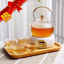 Teapot girl cute small teapot exquisite one person drink Nordic style fruit tea Japanese household tea pot leisure