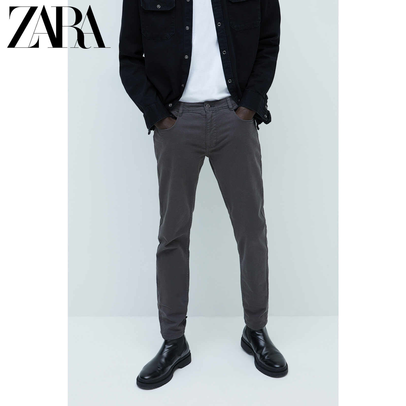 Zara new men's basic slim jeans 06786470802