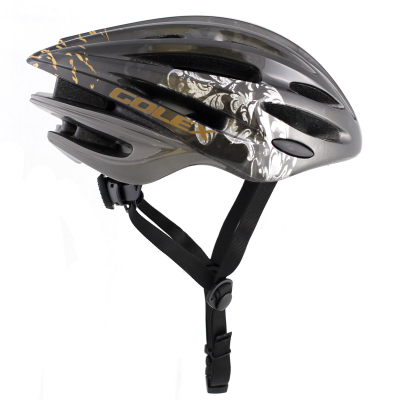 [Export Foreign Trade Defects] Golex Golden Book Integrated Forming Bicycle Mountainous Bike Helmet 27-hole Large Size