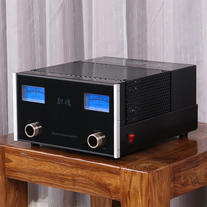 High fidelity electronic tube power amplifier KT88 push-pull gallbladder machine power amplifier