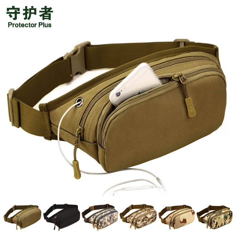 Wallet Men's Multifunctional Bag Mini Leisure Sports Canvas Wear-resistant Outdoor Mobile Phone Men's and Women's Money Collection Business Bag