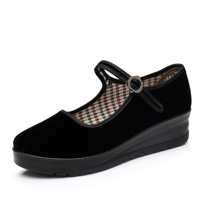 Giày nữ, chất liệu vải êm ái