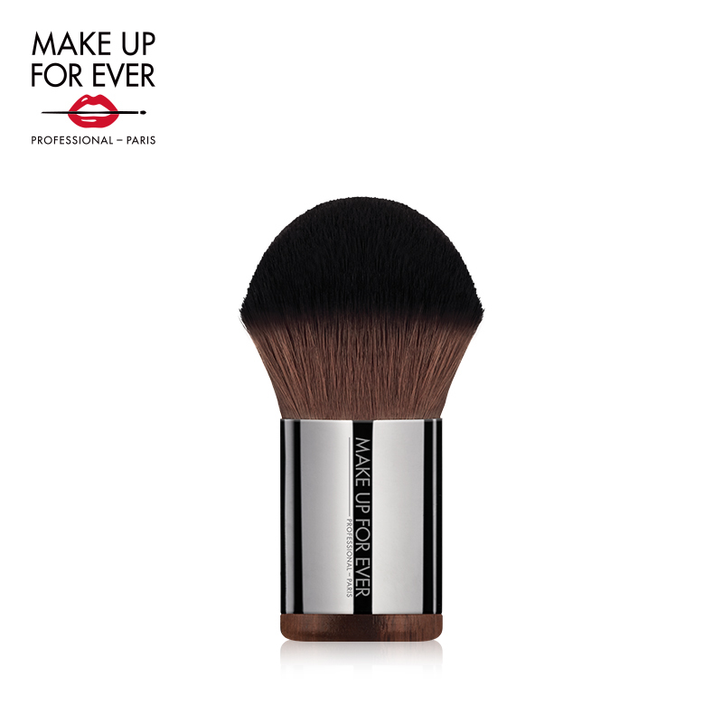 MAKE UP FOR EVER/ Mei phenanthrene KABUKI honey brush, blush brush, makeup brush, honey powder partner.