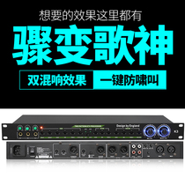 DGH professional DSP stage KTV pre-stage effects home K song double reverb processing microphone vocal reverb