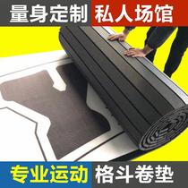 Fitness 抟 boxing xpe roll pad Muay Thai loose fight judo taekwondo fighting training exercise mat mat mat