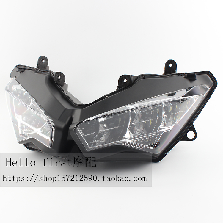 Suitable for Kawasaki Ninja 400 NINJA400 18 19 20 led headlights headlights head living room lights