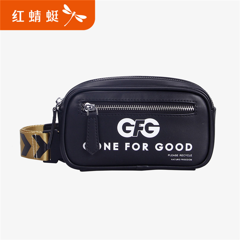 Red Dragonfly Bag Girl New Luggage Outdoor Leisure Sports Mini Bag Young Lady Skew Bag