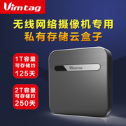 Vimtag S1 Wireless 8 WiFi network 1T2T hard disk recorders financial cloud encryption