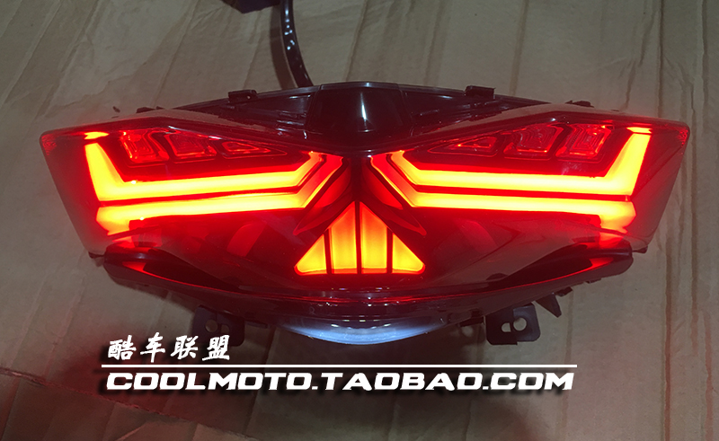 It is applicable to the four generations of Linhai Aurora Power War and the four generations of eye-to-eye modified taillights