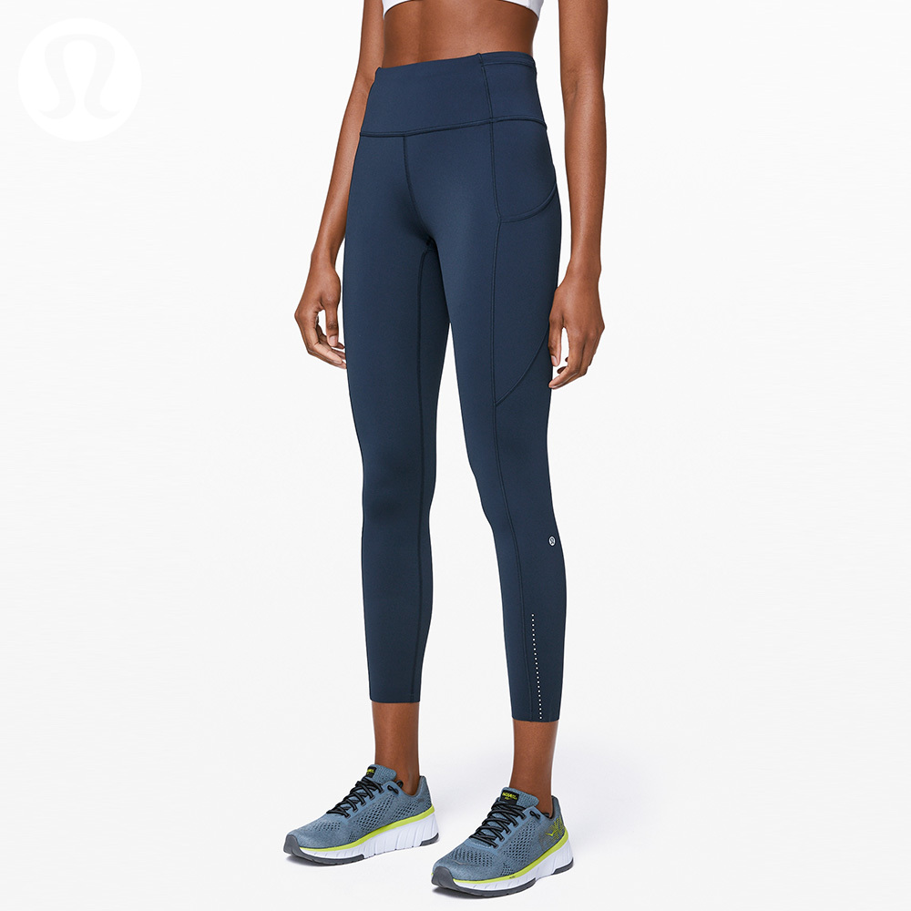 Ms. LululemonFast and Free Sports 7/8 Length High Waist Tight Pants LW5BJGS